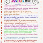 10 Tips Anxious Kids